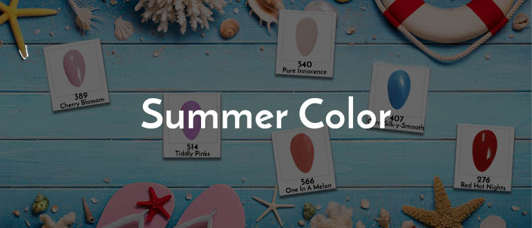 Our Favorites Summer Colors | 2019