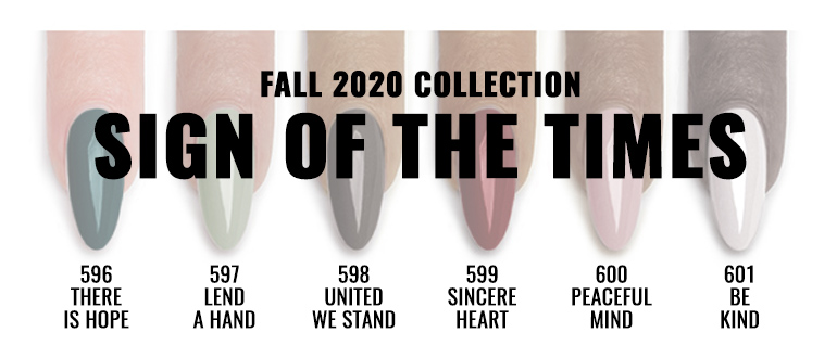 Fall 2020- Sign Of The Times Collection